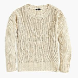 NWT J. Crew Crewneck Beach Sweater